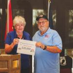 2021 Check Presentation to Veterans First LTD